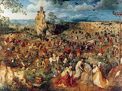 Bruegel, Le Portement de la croix