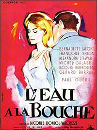 L'eau  la bouche