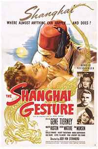 The Shanghai Gesture