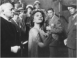 Erich von Stroheim et Gloria Swanson
