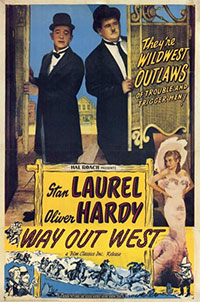 Laurel et Hardy au Far-West