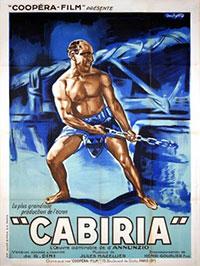 Cabiria - affiche française (fin des années 20?)