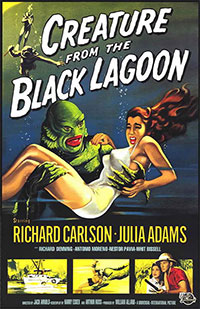 L'étrange créature du lac noir