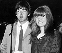 Paul McCartney et Jane Asher