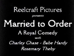 Married to Order