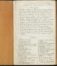 Script de Méliès - Le palais des mille et une nuits