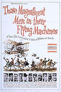 Ces merveilleux fous volants dans leurs drôles de machines