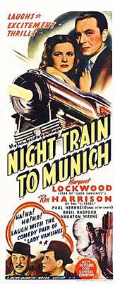 Train de nuit pour Munich
