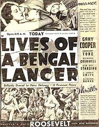Les 3 lanciers du Bengale