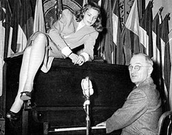 Harry Truman et Lauren Bacall