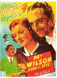 Monsieur Wilson perd la tête